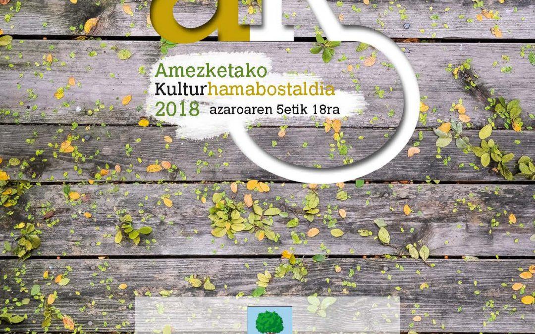 2018ko kultur hamabostaldia