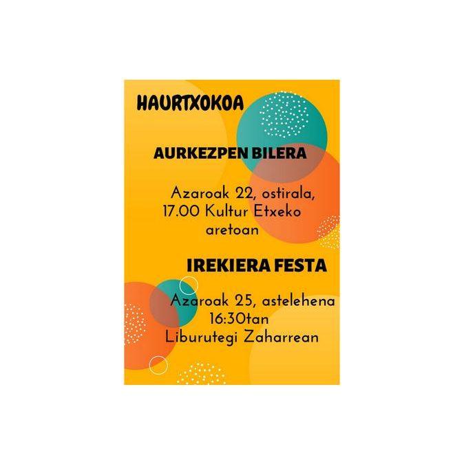 AMEZKETAKO HAURTXOKO BERRIA  AURKEZPEN BILERA